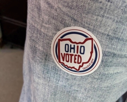 Early voting and absentee voting in Ohio are outpacing levels from 2016. (M. Kuhlman)