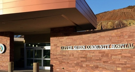 The Copper Queen Community Hospital, in the mining town of Bisbee in Cochise County, is one of dozens of health-care facilities that serve residents of rural Arizona. (Copper Queen Hospital)
