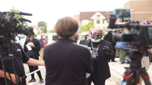 The Rev. Greg Lewis, pictured, heads the group Souls to the Polls-Milwaukee. The organization says its focus is to unite ministers and congregations to strengthen the voting power of the Black community. (Souls to the Polls)