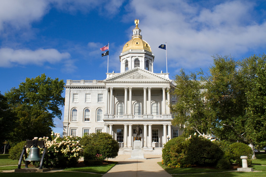 According to the National Conference of State Legislatures, at least one chamber of the New Hampshire Legislature has flipped parties in six of the past eight elections. (sframe/Adobe Stock)