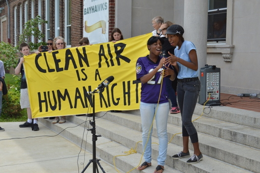 A new Maryland report emphasizes the importance of environmental justice in forming clean energy policies. (Tom Pelton/Environmental Integrity Project)