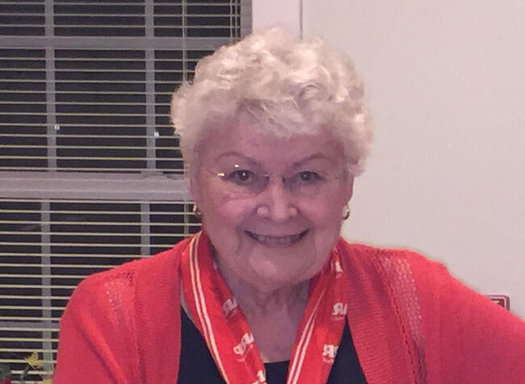AARP Connecticut's 2020 Andrus Award recognizes Marie Hakmiller of Willimantic for five decades of community service. (Photo courtesy of Hakmiller)
