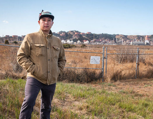 Denny Khamphanthong, now with the Asian Pacific Environmental Network, grew up near the Chevron refinery in Richmond, Calif. (Federica Armstrong/YES! Magazine)
