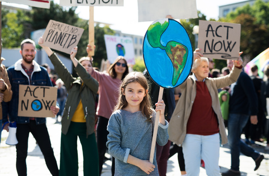 Youth-centered environmental groups say their generation is greatly concerned about climate change, and policymakers need to take their concerns more seriously. (Adobe Stock)