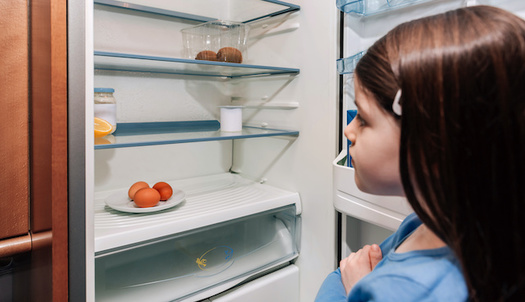 "People in one in ten Illinois households with children say they ""aren't at all confident"" they'll be able to afford enough food in the next four weeks. (David Pereiras/Adobe Stock)"