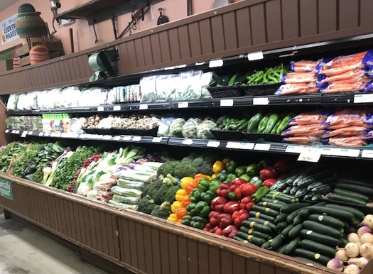 Cliff's Country Market in Caldwell, Idaho, was among the stores that participated in the Prescription for Fresh Fruits and Vegetables program. (Idaho Hunger Relief Task Force)
