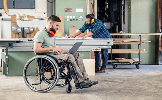 Some North Dakota employers are being honored this week for welcoming people living with disabilities into their workforce. They say these workers bring a lot to the table, and many have the ability to work from home. (Adobe Stock)