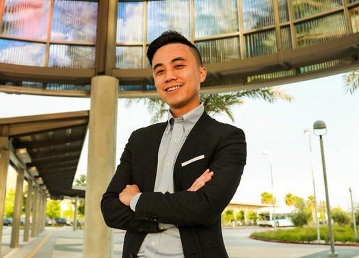 Alex Lee, D-San Jose, will be sworn in on Monday as the first openly bisexual member of the California State Assembly. (Vanessa Hsieh)