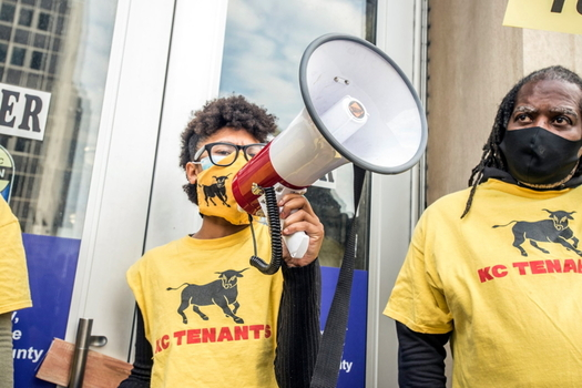 KC Tenants is taking an unconventional approach to fighting for renters' rights in Kansas City. (KC Tenants Facebook page)