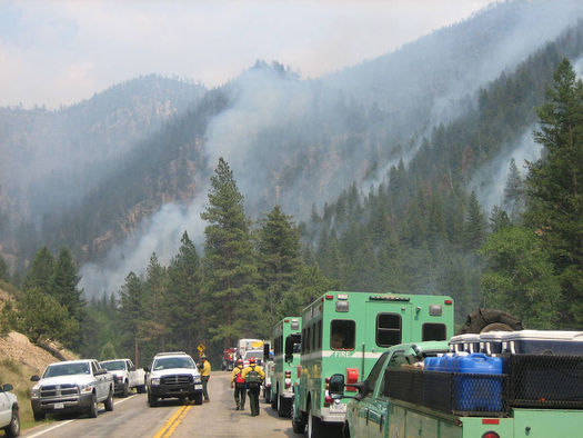 This fall has seen Colorado's worst ever fire season, with more than 650,000 acres burned. (Wikimedia Commons)