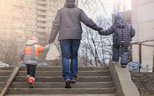 Apart from eviction concerns and food insecurity, a new report says 8% of Minnesota households with children report not having health insurance. (Adobe Stock)