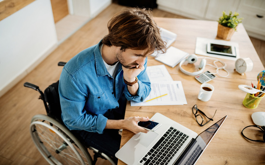 A survey from the National Disability Institute showed more than half of respondents worried about social isolation and access to community support during the pandemic. (Adobe Stock)
