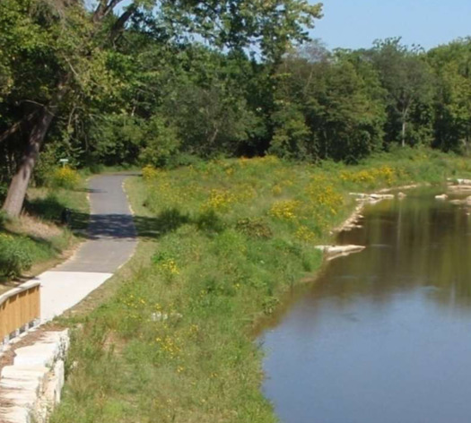 The city of Mount Airy, N.C., has undertaken a major stream-restoration project. (Adobe Stock)