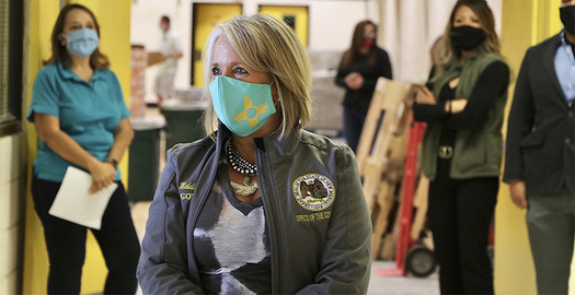New Mexico Gov. Michelle Lujan Grisham has committed to developing regulations aimed at strengthening environmental regulations governing the fossil-fuel industry. (Lujan Grisham/Twitter)