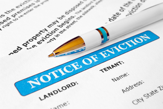 Evictions had risen about 21% before the pandemic, but dropped 10% once the moratorium took effect. (Frontier/iStock)