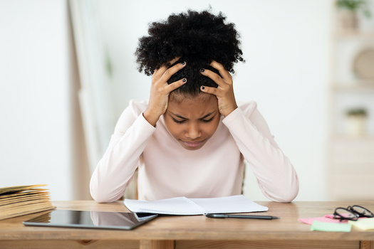 New York teachers say standardized testing this school year would add more stress on students who already are dealing with multiple crises. (Prostock-studio/Adobe Stock)