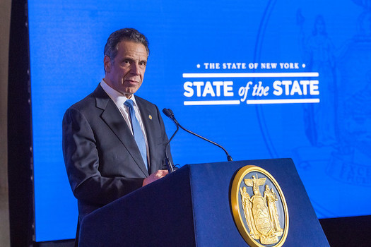 Gov. Andrew Cuomo says the state's Green Energy Program will create more than 50,000 jobs. (Photo: Gov. Andrew Cuomo)