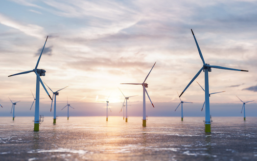 Wind has the potential to support over 600,000 jobs in manufacturing, installation, maintenance and supporting services by 2050, according to the U.S. Dept. of Energy. (Adobe Stock)