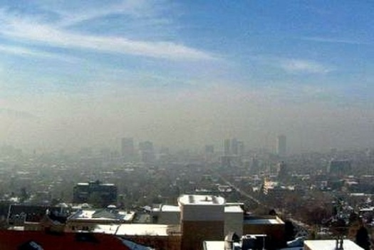 Restoring EPA regulations on vehicle emissions standards could help the Wasatch Front/Salt Lake City region roll back its annual brown cloud, which appears each winter. (Utah Dept. of Health)