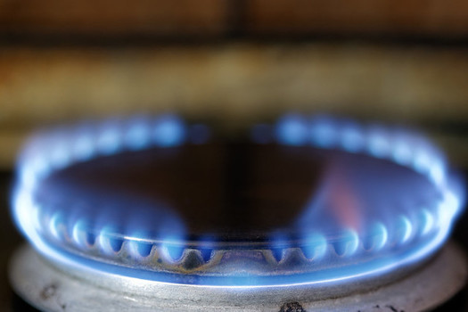 Gas stoves release harmful pollutants that can increase the risk of asthma for children. (Ervins Strauhmanis/Flickr)