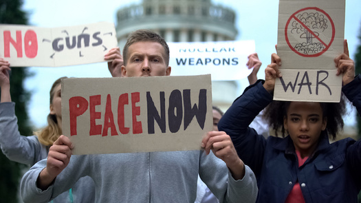 More than 50 non-nuclear states have signed on to the U.N. treaty on the prohibition of nuclear weapons, following what they consider a lack of progress toward disarmament by nuclear-weapons states. (motortion/Adobe Stock)