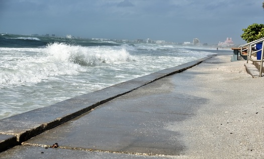 Florida's coastlines have been hit hard in recent years by sea-level rise and the increased intensity and frequency of tropical storms. (Selcuk/Adobe Stock)