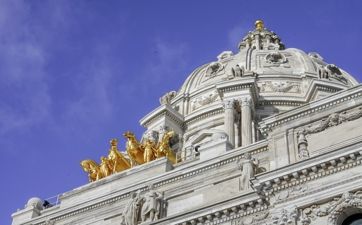 Minnesota's Capitol building has seen a beefed-up security presence following last year's civil unrest and this year's political tension. Members of a safety committee say some measures need to be permanent. (Adobe Stock)