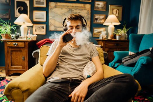Nationwide, more than 21% of students in high school and nearly 5% in middle school report using e-cigarettes and vapes. (Adobe Stock)