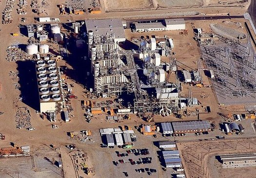 The High Desert Power Project in Victorville is one of three that chose to have forced outages last August, which contributed to last summer's blackouts. (Chanilim714/Wikimedia Commons)