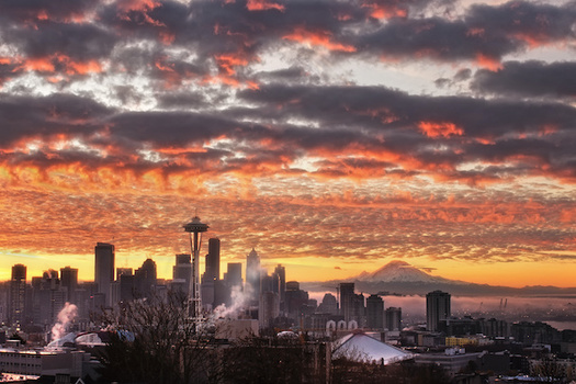 The building sector is the second-biggest carbon emitter in Washington state. (Dene' Miles/Adobe Stock)