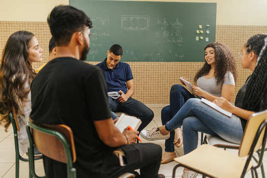 An estimated 48% of Hispanic students are first-generation students, compared with 28% of white students, according to the Postsecondary National Policy Institute. (Adobe Stock)