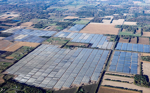 Minnesota's North Star solar plant first went online in late 2016. (Shaw Renewable Investments)