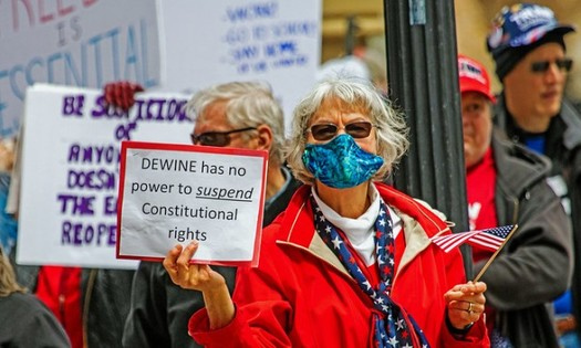 Gov. Mike DeWine declared a state of emergency due to the COVID-19 pandemic on March 9, 2020. This week, he's getting an earful about it, pro and con, in the General Assembly. (Paul Becker/Flickr)