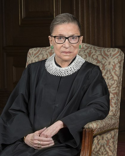 Nearly six months after Justice Ruth Bader Ginsburg's passing, women's groups gather this week to commemorate her birthday and celebrate her legacy. (Steve Petteway/Supreme Court of the United States)