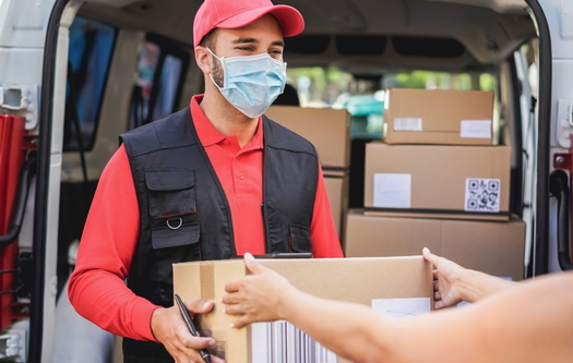 Food-distribution programs are eligible for the American Heart Association's Faith-Based Accelerator grants for worship groups on the East Coast. (Adobe stock)