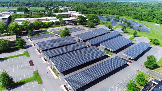 """Developing """"low-impact"""" solar installation sites would help meet New York's ambitious clean- energy goals and fight climate change. (WADII/Adobe Stock)"""