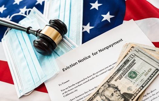 The Consumer Financial Protection Bureau and the Federal Trade Commission say they're prepared to enforce penalties against landlords who expel tenants despite the current federal ban on evictions, which is in effect until June 30. (Joaquin Corbalan/Adobe Stock)