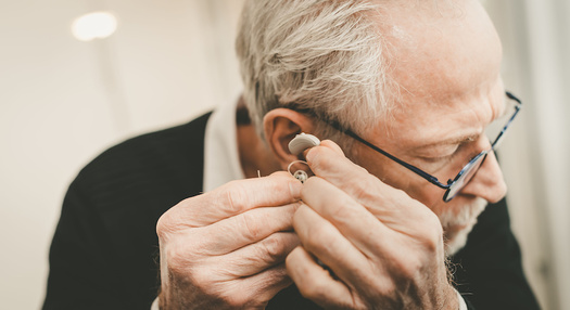 Research shows untreated hearing loss can be linked to social isolation in older adults. (thodonal/Adobe Stock)