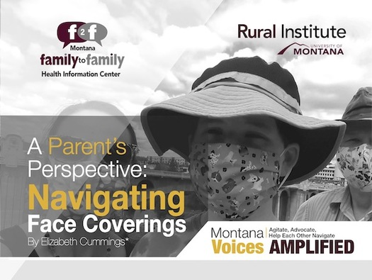 Elizabeth Cummings shared her experiences with her son, who has autism and a genetic disorder, through Montana Voices Amplified. (Wisam Raheem/Rural Institute for Inclusive Communities)