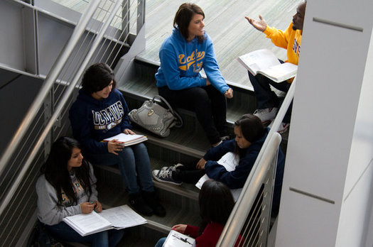 California community colleges have seen a drop in enrollment of men that is twice the drop seen among female students, prompting targeted outreach efforts. (Campaign for College Opportunity)