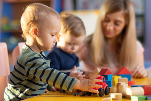 Oregon may have lost more than 44,000 child-care slots due to the pandemic, according to a new report. (Oksana Kuzmina/Adobe Stock)