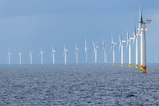 The Biden administration says a thriving offshore wind industry will drive new jobs and economic opportunity, on the Atlantic and Pacific coasts and in the Gulf of Mexico. (Adobe Stock)