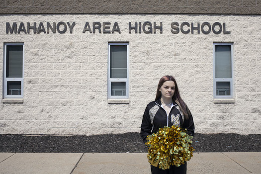 Brandi Levy was punished by her school for a message she sent to friends while she was away from school. (Photo: Danna Singer/ACLU)