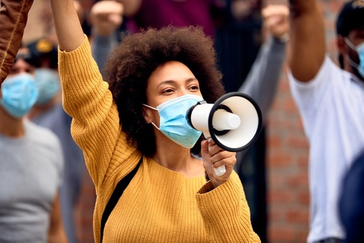 Since 2017, 45 states have considered bills restricting people's right to free assembly. (Adobe Stock)