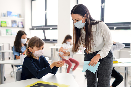New Hampshire's teachers, like those around the country, have adapted their methods and taken on more responsibilities to continue teaching during the pandemic. (Halfpoint/Adobe Stock)