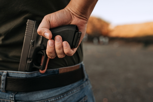 More than 60% of 2018 gun deaths in Maryland were homicides, according to the Educational Fund to Stop Gun Violence. (Adobe stock)