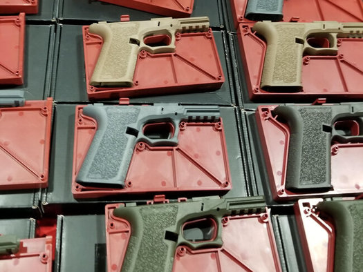 Unfinished gun parts are sold online and at gun shows, without background checks. (Stephen Lindley/Brady United)