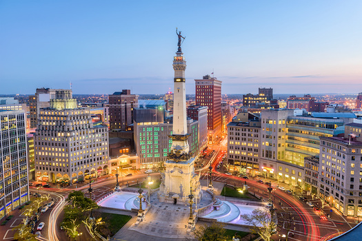 Once a center for industrial jobs, work in Indianapolis is becoming increasingly based in technology. (SeanPavonePhoto/Adobe Stock)