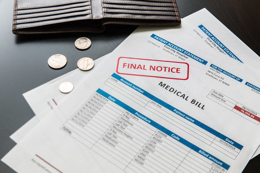 The California Health Care Foundation finds over the past 15 years, the cost of health-insurance premiums has jumped almost 250%, while inflation has grown 44%. (Volgariver/Adobe Stock)