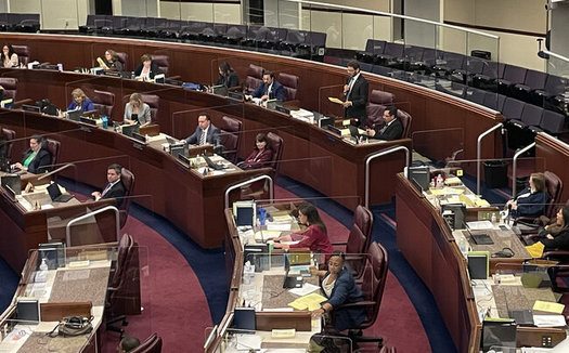 After meeting for four months, the Nevada Legislature has ended its 2021 session this week. (Annette Magnus/Battle Born Progress)
